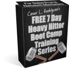 Free MLM Training- Heavy Hitter Boot Camp Video Training Series